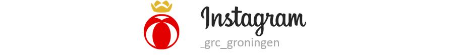 Volg het laatste nieuws van GRC Groningen via Instagram