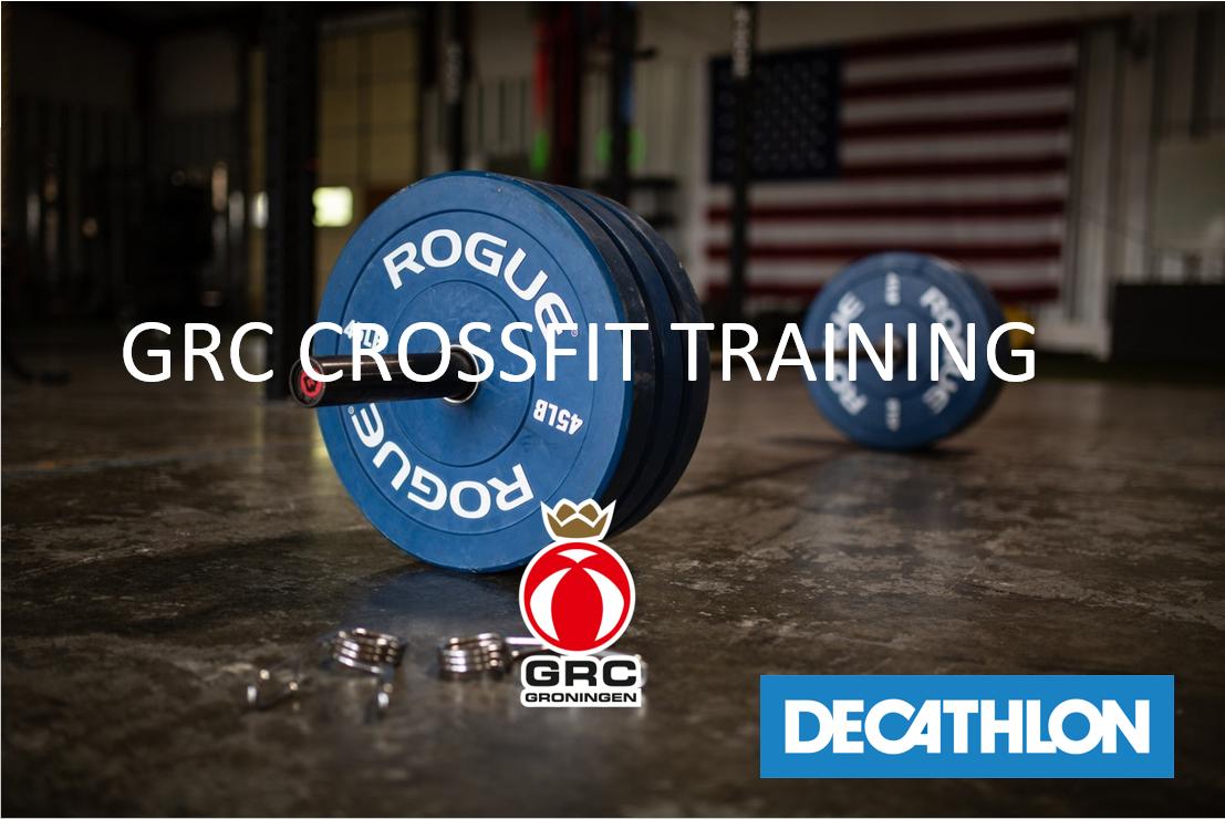 Komende zaterdag weer gratis CrossFit Training
