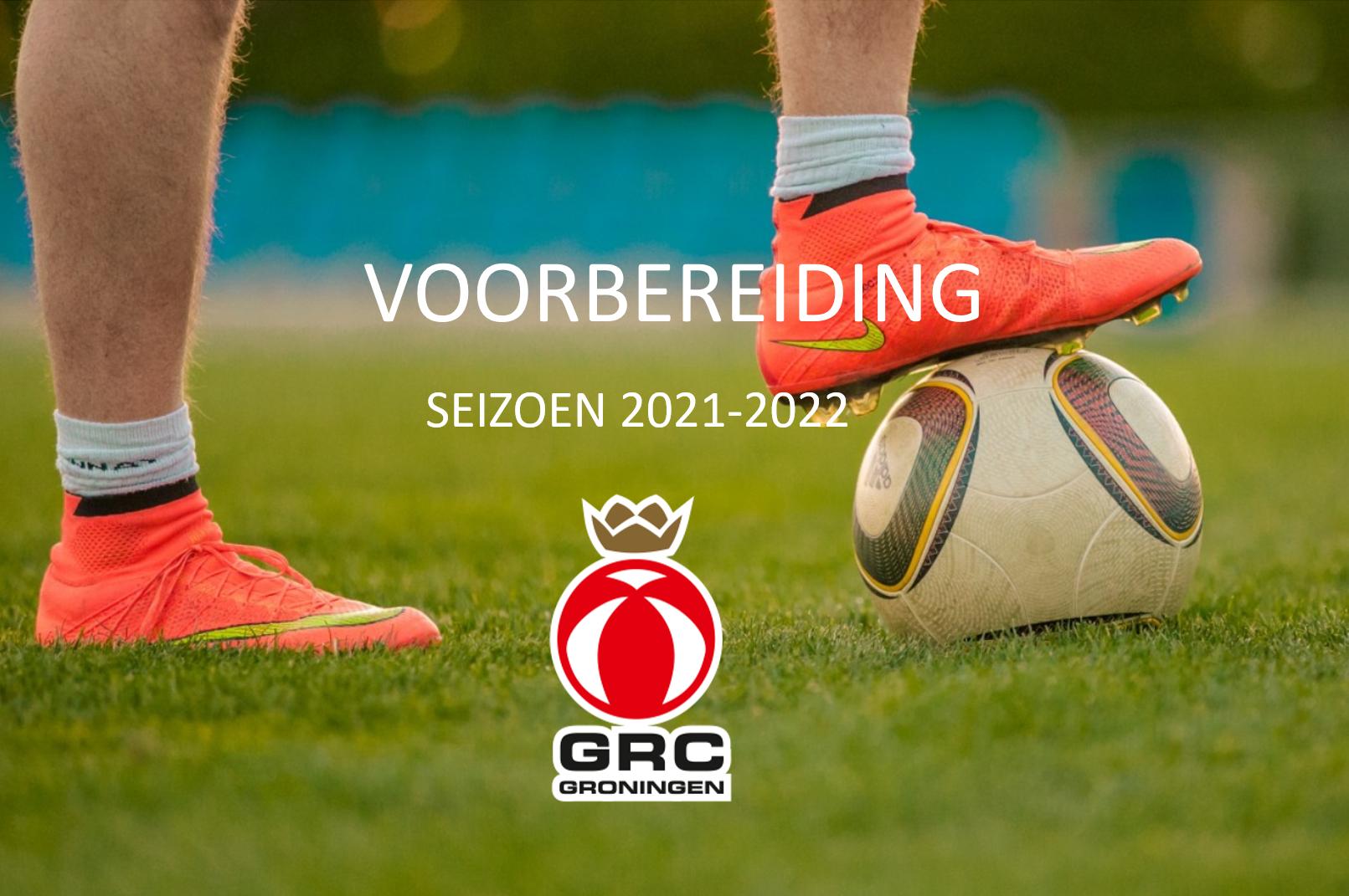 Voorbereiding seizoen 2021-2022 JO7 t/m JO23