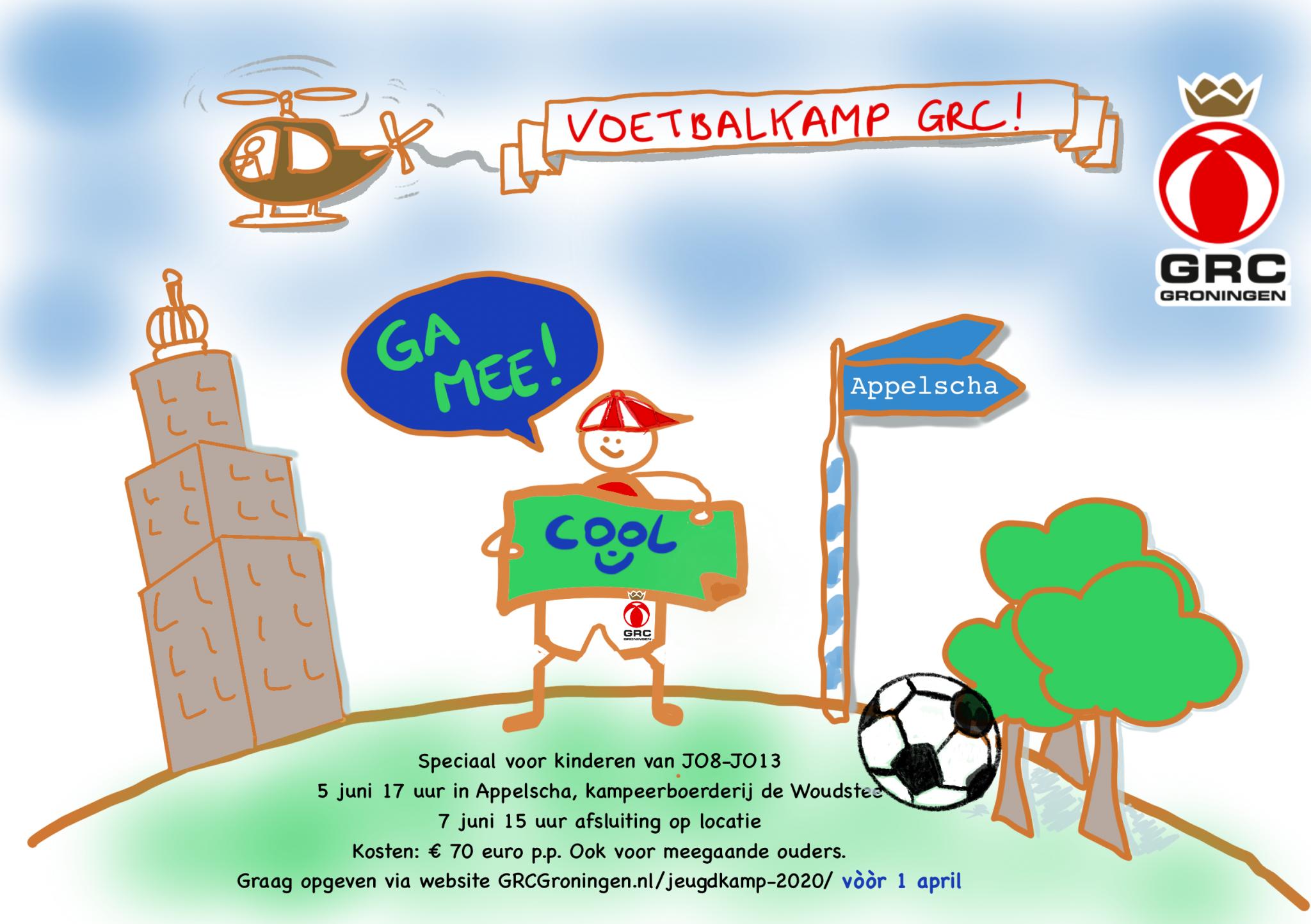 GRC voetbalkamp 2020