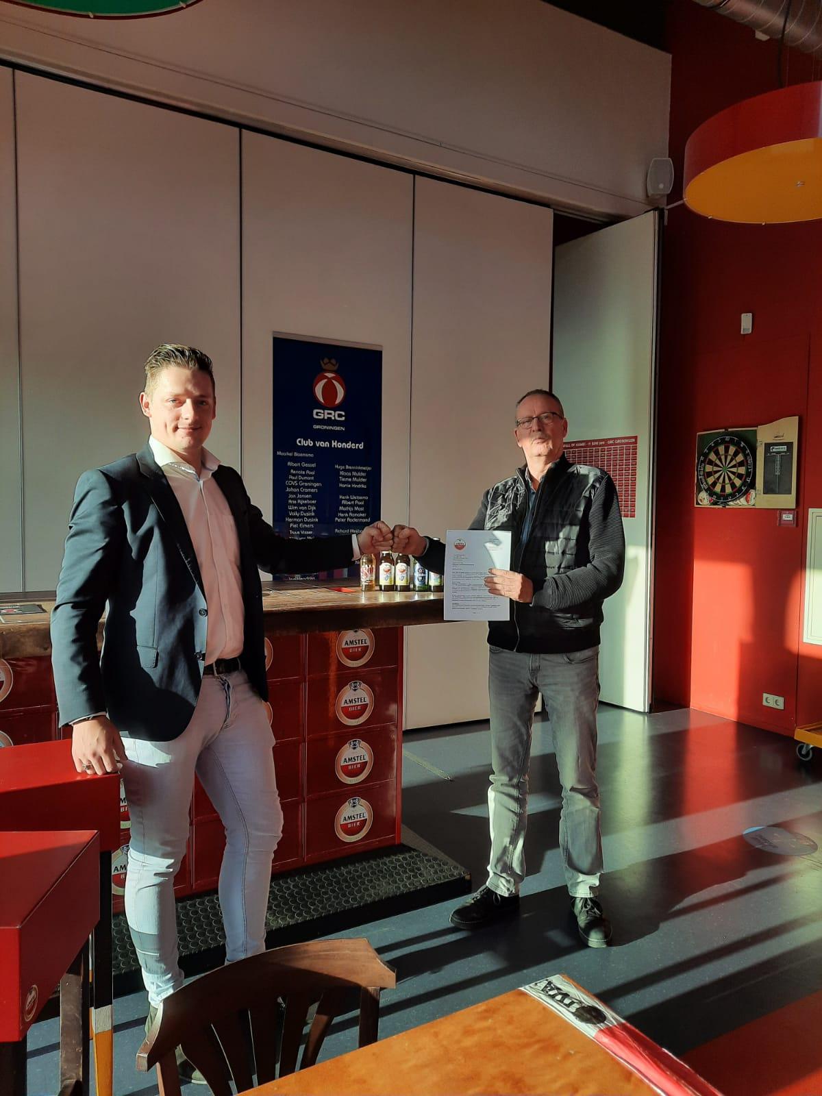 GRC verlengt contract met Heineken/Amstel
